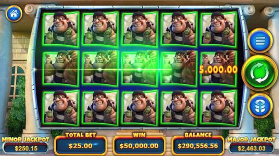 Landscape screenshot of Cash Bandits 3 on iPhone