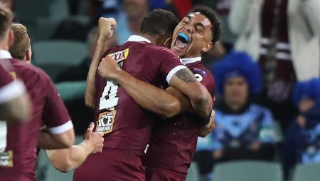 Young Maroons Deliver Blow to NSW Hopes in Origin Game 1